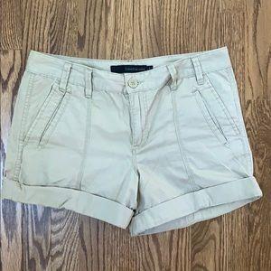 Calvin Klein Jeans Khaki Shorts w/ rolled cuff